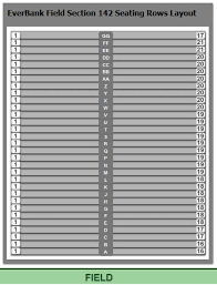 Tiaa Bank Field Seating Chart With Rows And Seat Numbers How Many Seats In Section 142 Row Aa At Tiaa Bank Field