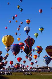 Albuquerque balloon festival  Ride in HOT AIR ...
