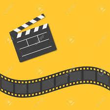 Film Picture Template Open Movie Clapper Board Template Icon Film Border Cinema