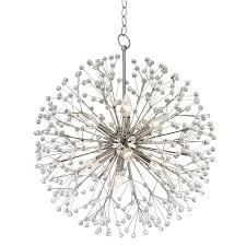 hudson valley 6020 pn dunkirk polished nickel mini chandelier light