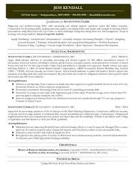 Accounting Specialist Resume Classy Cpa Resume Sample Musiccityspiritsandcocktail