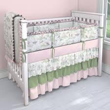 nursery rhyme toile with heather green nursery idea customizable crib bedding set carousel designs