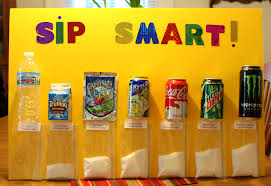 Sip Smart Chart For Dental Health Month Dental Health