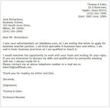 Basic Business Letters Business Cover Letter Examples Cover Letter Now