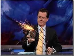 Stephen Colbert on RNC Comeback Character and More   Hollywood     Pinterest