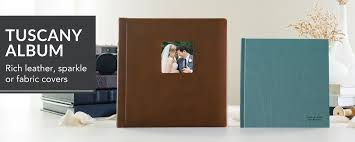 Tuscany Album Flush Mount Wedding Album With Covers In