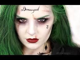the joker female version squad jared leto makeup tutorial you