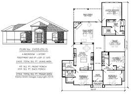 4 bedroom 1 story 3 bathrooms 1 family room 1 dining room 1 kitchen 2493 square feet