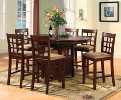 Bar Height Kitchen Table Set Stylish Ideas Bar Height Dining Tables Stunning Kitchen Enchanting