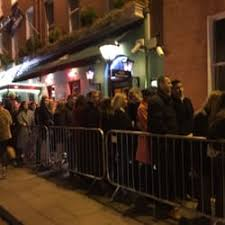 photo of the black door dublin republic of ireland saay night
