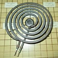 vintage thermador tmh range burner coil