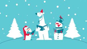 Funny Christmas carol group wallpaper ...