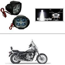 4 led small circle motorcycle light bike fog l light 2 pc bajaj avenger 220 cruise get 74 off