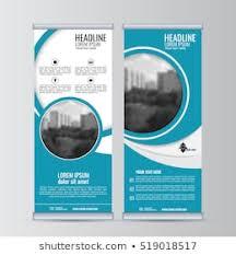 Business Banner Design Business Roll Design Template Xstand Vertical Stock Vector Royalty