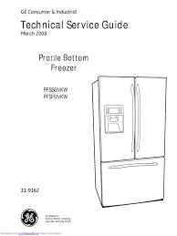 pfssnkw ge refrigerator service manual refrigerator door