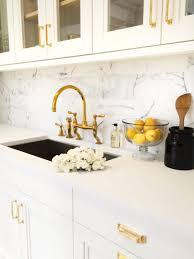 gold kitchen faucet. 3 Hole Kitchen Taps Venetian Bronze Faucet Gold Color Antique Brushed Sink