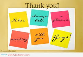 Thank You Note At Work | Thank You Notes