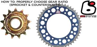 How To Choose The Right Gear Ratios Sprockets