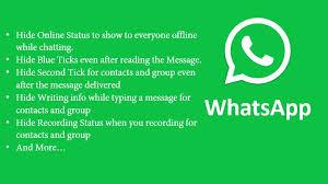 Make impressive whatsapp status with photoadking's online whatsapp status maker. Gbwhatsapp Hide Blue Tick Second Tick Last Seen More On Whatsapp
