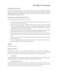 help desk analyst job description help desk resume sample cover letter desktop support cover letter