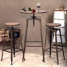 industrial antique furniture. 3PC Industrial Vintage Metal Design Bistro Set Adjustable High Bar Chair Antique HW51127-in Living Room Sets From Furniture On Aliexpress.com | Alibaba