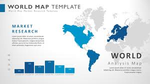 powerpoint map templates world presentation powerpoint map slide template