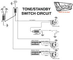 pickup and harness wiring schematics tv jones standby schematic