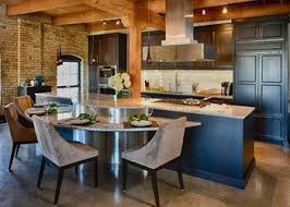 Rustic kitchens designs Bright Industrial Rustic Loft Kitchen Home Design Ideas Rustic Kitchens Mingle