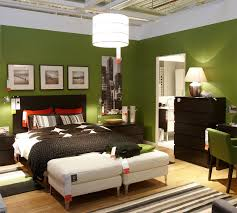 colorful modern furniture. Colorful Modern Interior Design With Ikea Furniture Green Dedroom