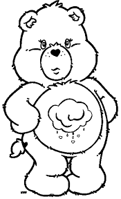 Small Picture Care Bears Coloring Pages Wecoloringpage
