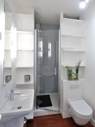 Inspiration for a small contemporary 3/4 dark wood floor alcove shower  remodel in Paris