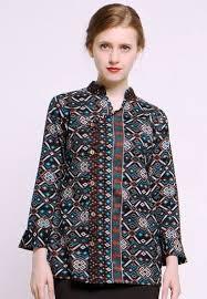 Kamu bisa mengenakannya untuk acara resmi, pesta, atau dipakai ke kantor. 43 Model Baju Batik Wanita Terbaru Update Atasan Lengan Panjang Dll Model Baju Muslim Gamis Syar I Abaya Terbaru Modelmu