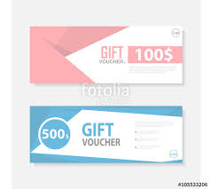 gift certificate for business colorful gift voucher template with colorful pattern cute gift