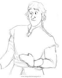 Disegno Frozenkristoff Personaggio Cartone Animato Da Colorare