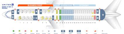 United Plane Seating Chart Seat Map Boeing 757 200 United Airlines Best Seats In Plane