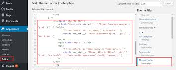 How To Remove The Powered By Text In Wordpress Footer Links