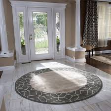 awesome large round area rug roselawnlutheran intended for large round area rugs