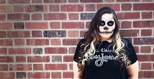 easy skull makeup tutorial