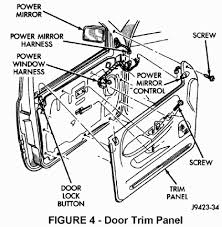 tsb  if equipped disengage the clips that hold the power window lock switch panel to the door trim panel fig 5 disengage wire connectors from the switch