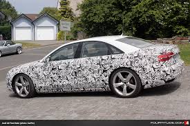 audi a4 2015 spy. Simple Spy Audi A8 Facelift Test Mule To A4 2015 Spy 2