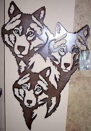 plasma cut wall art