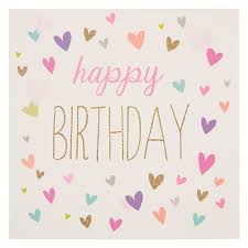 Buy Woodmansterne Birthday Hearts Birthday Card Online At Johnlewis