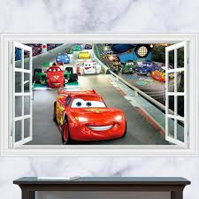 3D Cartoon Removable Wall Decal ...