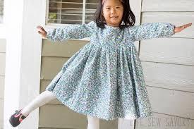 Free Dress Sewing Patterns Magnificent Free Dress Pattern Girls Sweet Rose Dress Life Sew Savory