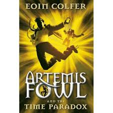 artemis fowl and the time paradox uk cover
