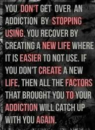 Addiction Recovery Quotes New Dont Stopping Using New Life Easier Create Life Factors To