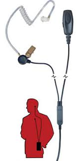 motorola radio earpiece. sentry two wire radio earpiece motorola r
