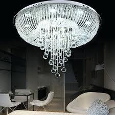 crystal ceiling chandelier clear crystal glass d flush mount chandelier ceiling led pendant lighting crystal chandelier