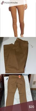 Old Navy Rockstar Pants Size 14 Size 14 Camel Brown New With