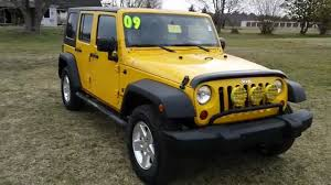 used car maryland 2009 jeep wrangler unlimited 4 door 4wd manual transmission you